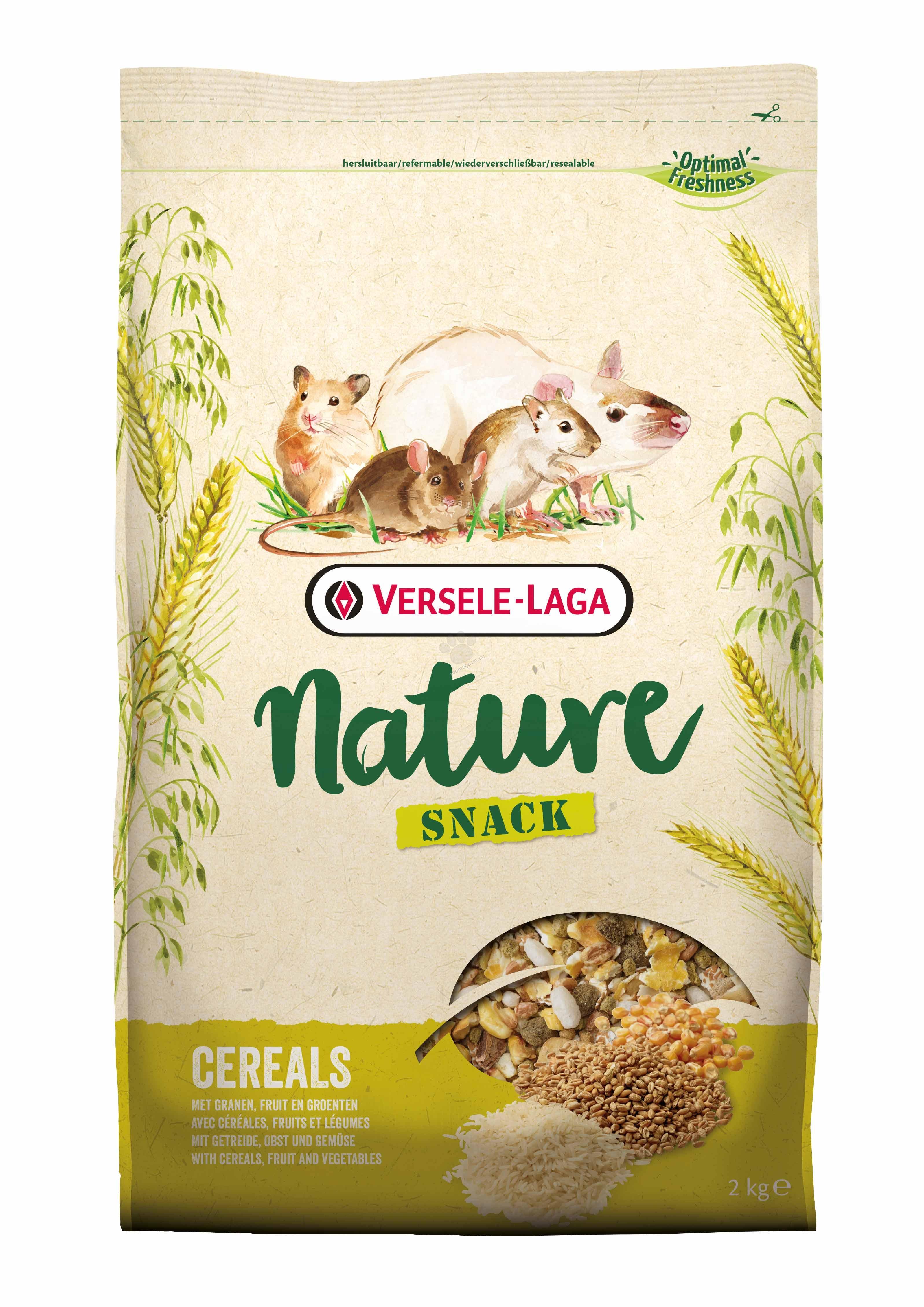 Versele Laga - Nature Snack Cereals - разнообразна закуска от зърнени храни 2 кг.