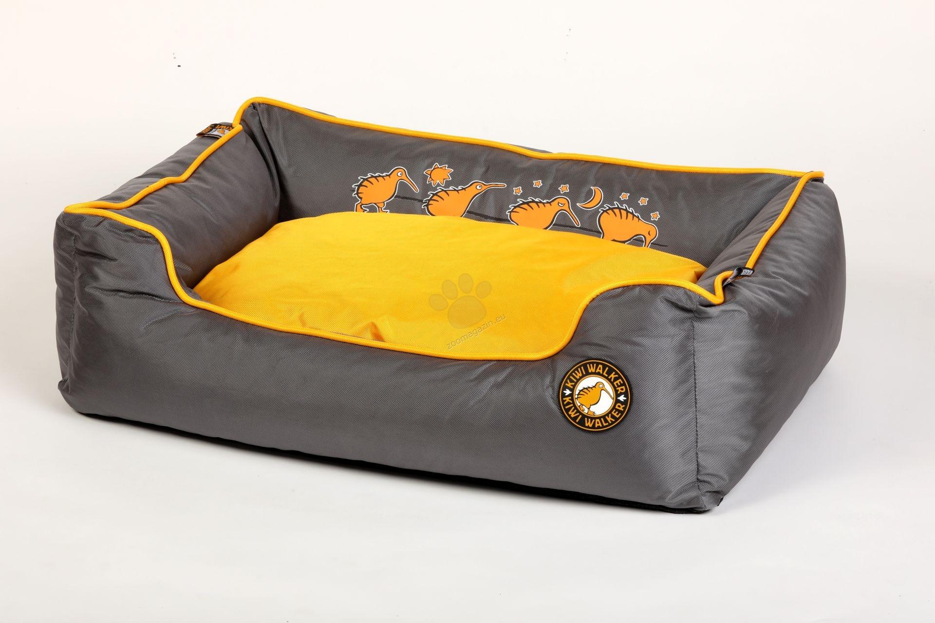 Kiwi Walker Bed Running S - ортопедично легло с мемори пяна 45 / 35 / 20 см. / розов, оранжев, зелен /