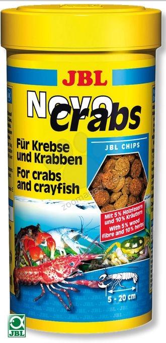 JBL NovoCrabs - основна храна за раци и ракообразни 100 мл