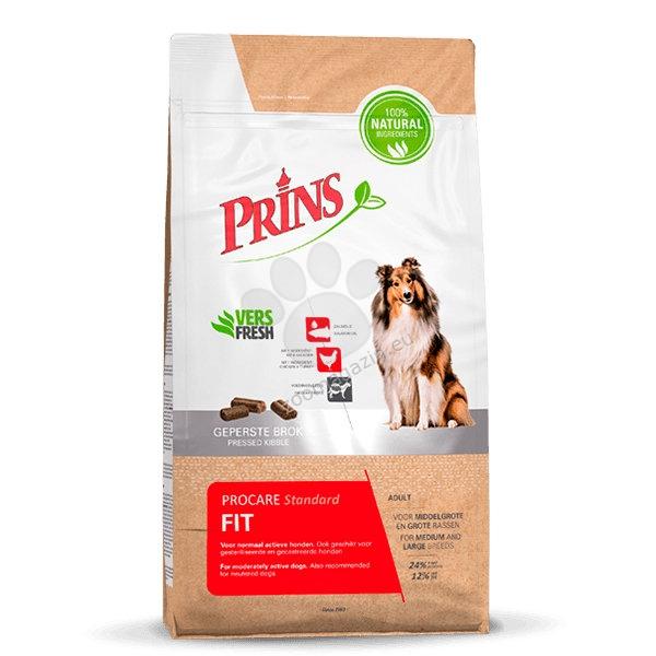 Prins ProCare Standard Fit - препоръчва се за кучета с по-ниски енергийни потребности над 12 месечна възраст 15 кг.
