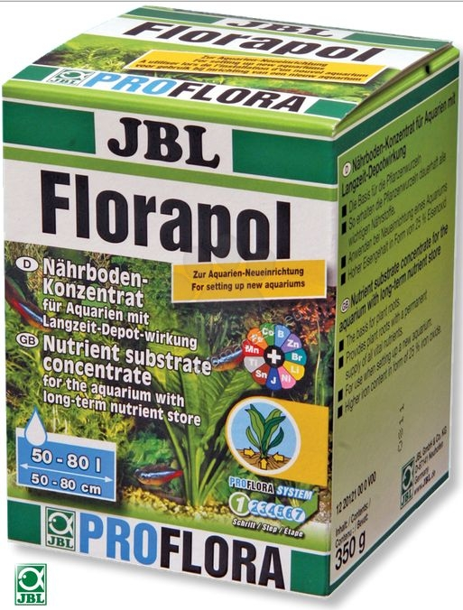 JBL Florapol - дълготраен подхранващ микс за растенията 350 гр.