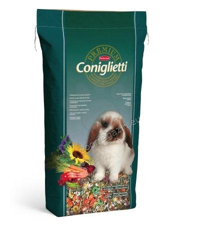 Padovan Premium cinigletti - пълноценна премиум храна за мини зайчета 18 кг.