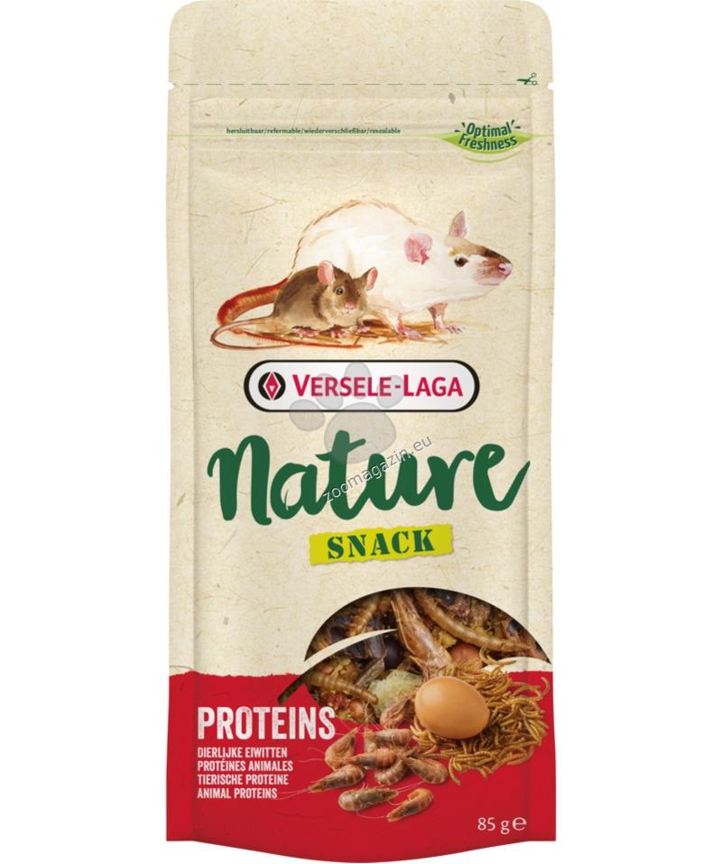 Versele Laga - Nature Snack Proteins - вкусно лакомство с животински протеини за порчета, мишки, хамстери 85 гр.