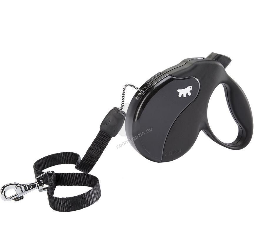 Ferplast - Amigo Cord M Black Black - 5 метра въже, за кучета с тегло до 25 кг.
