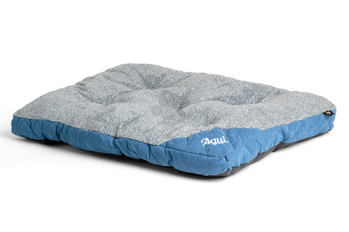 Agui Mountain Cushion - луксозен мек матрак 75 / 50 / 6 см. / кафяво, синьо, червено /