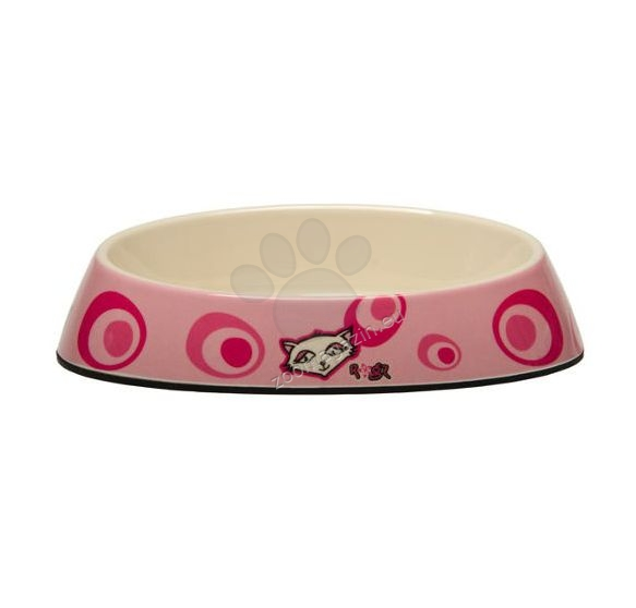 Rogz Bowls-Fishcake-CBOWL-K-Pink-Floral - купичка за храна или вода 200 мл.
