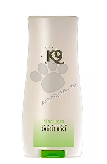 K9 Aloe Vera Conditioner - балсам който придава на козината красив блясък, улеснява разплитането и има антистатичен ефект 300 мл.