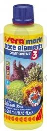 Sera Marin Component 3 Trace Elements 250 мл. - за специфичната поддръжка на соленоводния аквариум