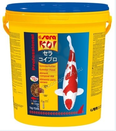 Sera - Koi Summer Food - лятна храна, 7 кг.