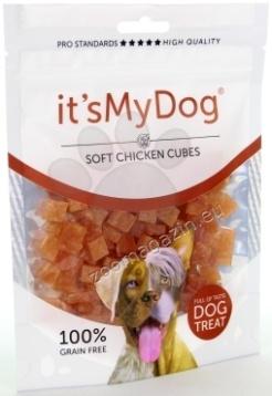 Its My Dog Chicken Soft Cubes Grain Free - меки кубчета пилешко, без зърно 85 гр.