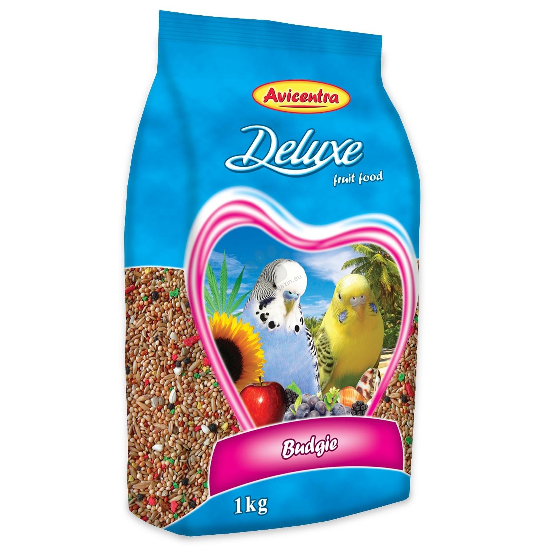 Avicentra Budgie deluxe - пълноценна храна за вълнисти папагали 500 гр.