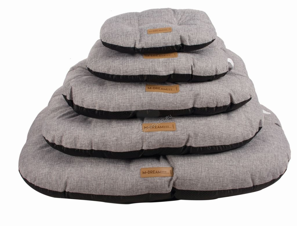 M-Pets OLERON Cushion gray - меко легло 75 / 52 см.