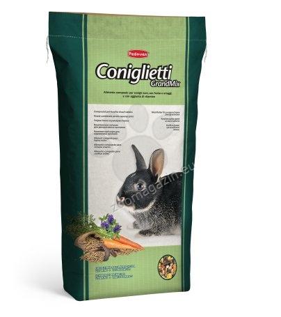 Padovan Grandmix conigletti - пълноценна балансирана храна за мини зайчета 20 кг.