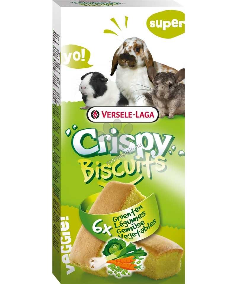 Versele Laga - Crispy Biscuit Vegetables - бисквити със зеленчуци и яйца 6 бр.