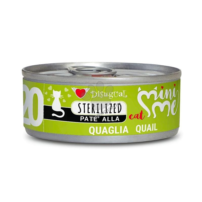 Mini Me Sterilized Quail - с месо от пъдпъдък, за кастрирани котки 85 гр.