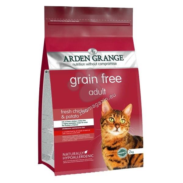 Arden Grange - Adult Chicken Grain Free - с пилешко месо, за котки над 12 месеца 8 кг.