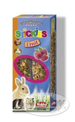 Nobby Stickies Fruit - крекер с плодове за гризачи  2 / 56 гр.