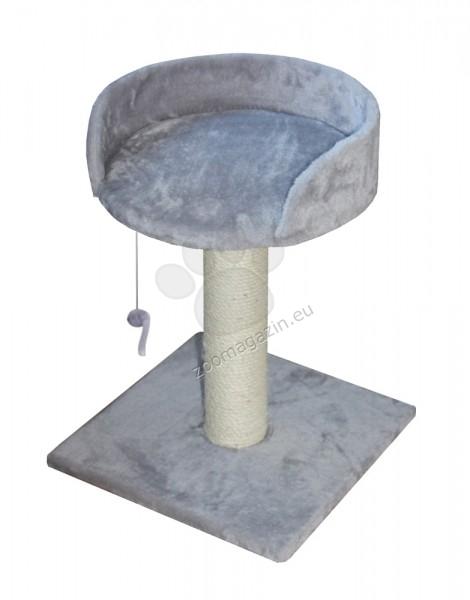 Nobby Asti - котешка драскалка с платформа 30 / 30 / 45 см. / сива, черна, бежова /