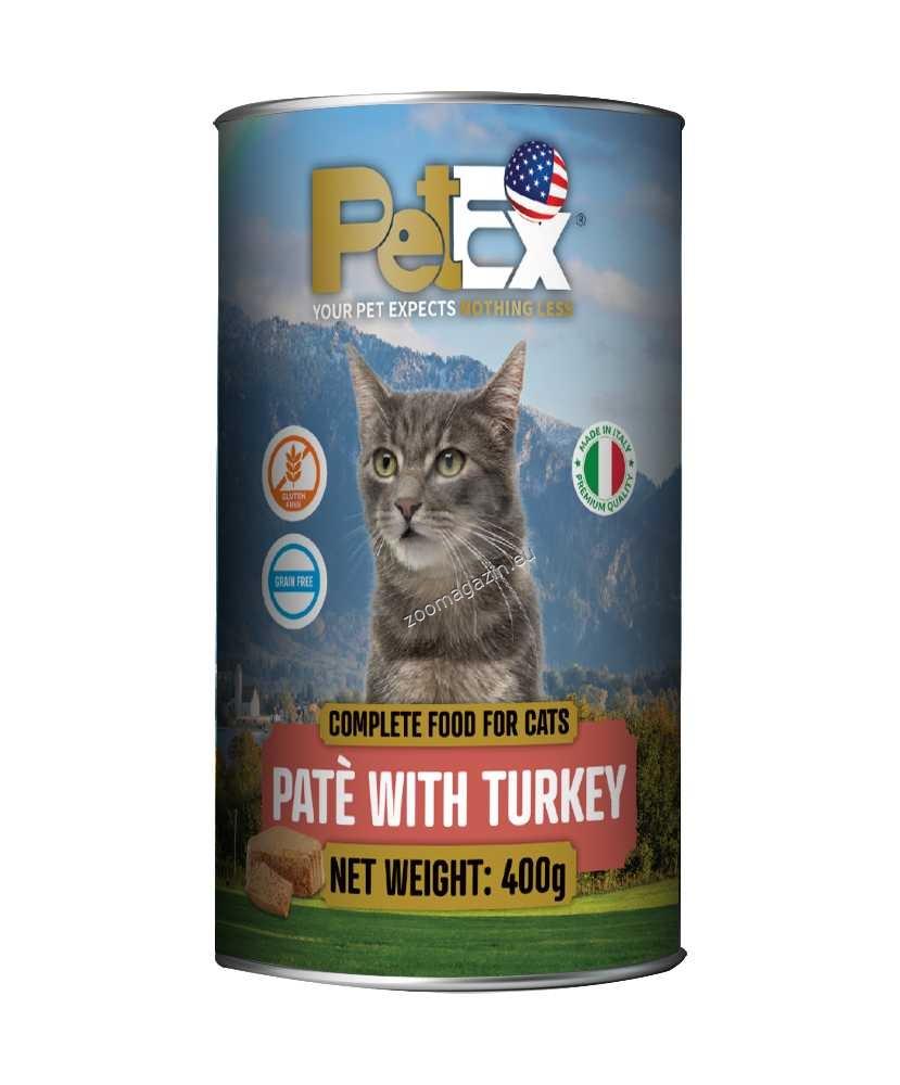 Petex Cat Pate Turkey - с пуешко месо, пастет 400 гр.