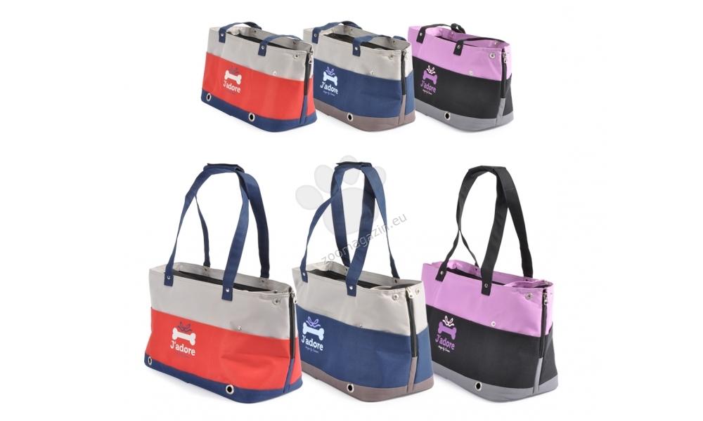 Camon Jadore - мека транспортна чанта / оранжева, синя, черна / 36 / 18 / 21 см.