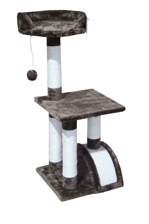 Valenger - Скрачер с легло+дръскалка 36 / 36 / 85 см.