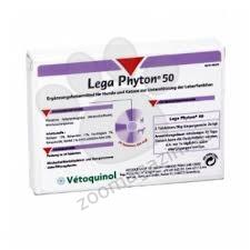 Vetoquinol - Legaphyton / легафитон / - xранителна добавка за кучета и котки, спомагаща за правилно функциониране на черния дроб 50 мг. / 24 табл.