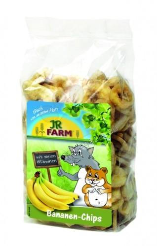 JR Farm Banana Slices -  натурални бананови резенчета, внимателно изсушен специалитет за разнообразно, балансирано хранене 150 гр.